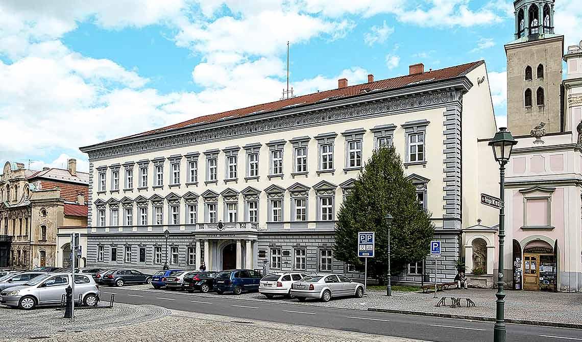 Budova FPF na Masarykově třídě v Opavě