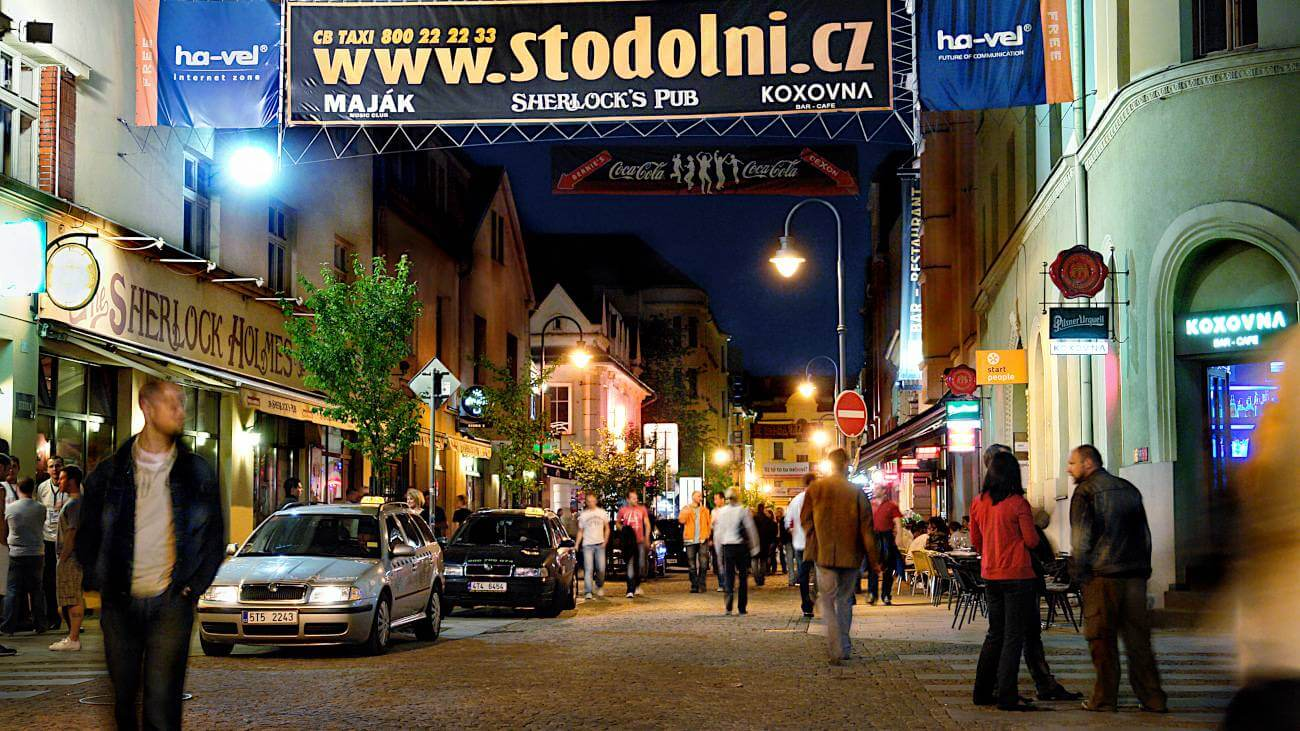 Stodolní ulice (Zdroj: fotoarchiv statutární město Ostrava)