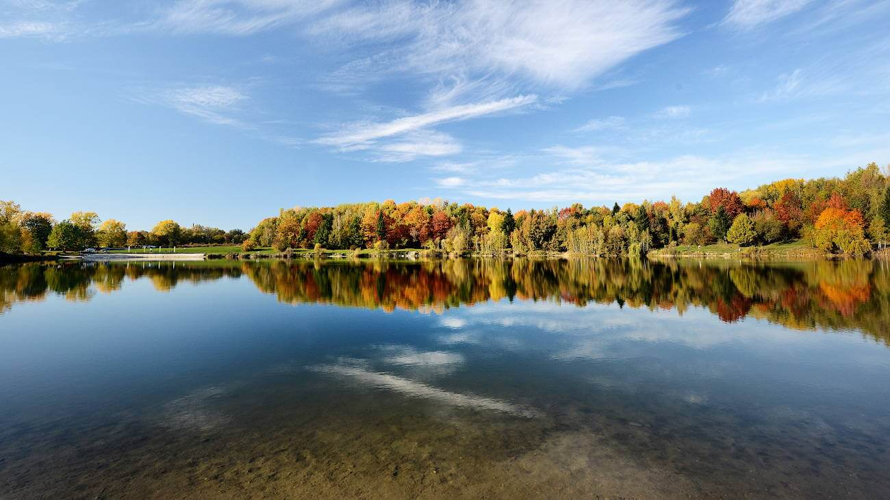 Stříbrné jezero (Zdroj: fotoarchiv statutární město Opava)