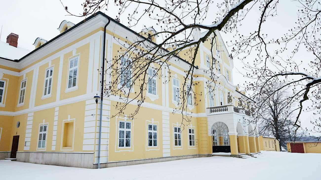 zámek Nová Horka (Zdroj: fotoarchiv Muzeum Novojičínska)