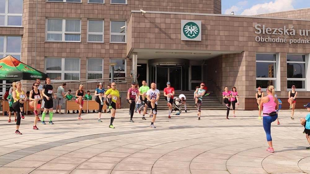 Vyběhni s děkanem OPF (zdroj: fotoarchiv OPF)