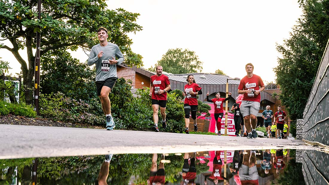 Běh pro luskouny (zdroj: fotoarchiv SU)